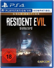 Resident Evil  7  PS-4  GOLD Biohazard