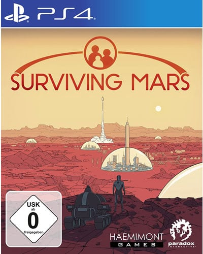 Surviving Mars  PS-4