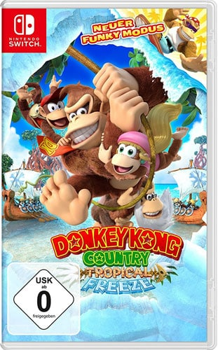 Donkey Kong Country Freeze CARD USK Switch