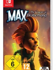 Max The Curse of Brotherhood CARD USK Switch