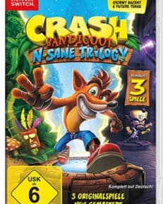Crash Bandicoot CARD USK Switch