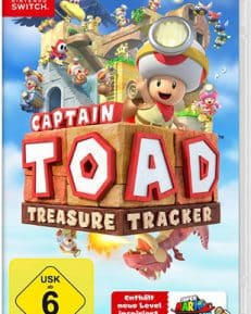 Captain Toad Treasure Tracker CARD USK Switch