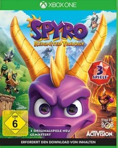 Spyro Reignited Trilogy DISC USK XBOX
