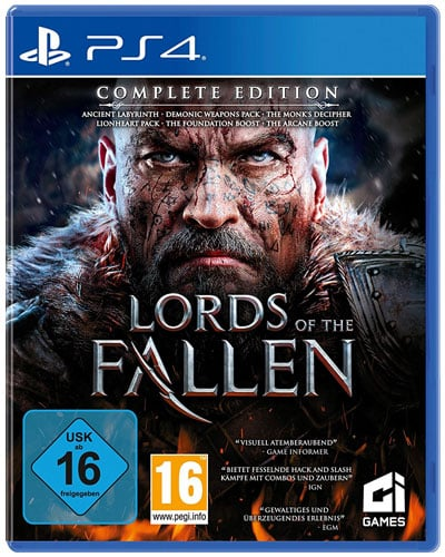 Lords of the Fallen  PS-4  COMPLETE