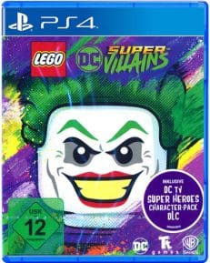 Lego DC Super-Villains DISC USK PS4
