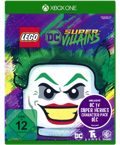 Lego DC Super-Villains DISC USK XBOX