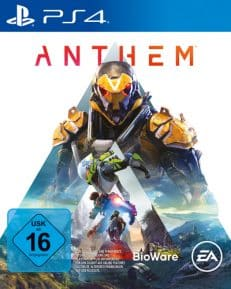 Anthem DISC USK PS4