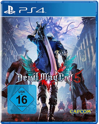 Devil May Cry 5 DISC USK PS4