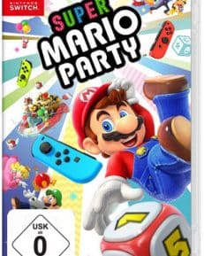 Super Mario Party CARD USK Switch