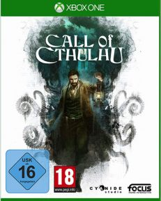 Call of Cthulhu DISC USK XBOX