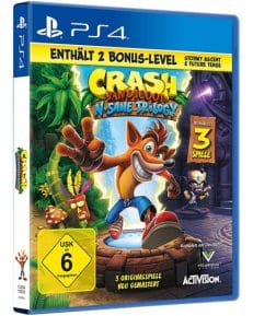 Crash Bandicoot DISC USK PS4