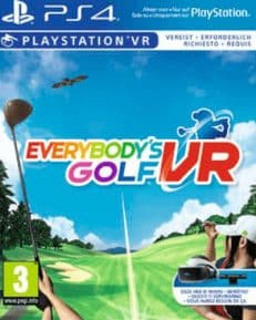 VR Everybodys Golf  PS-4  AT