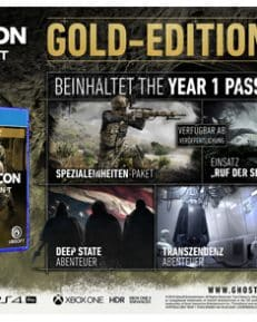 Ghost Recon Breakpoint  PS-4  Gold