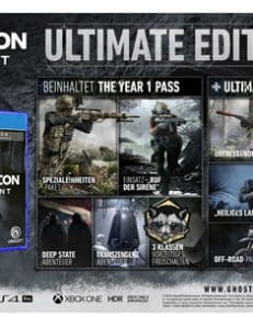 Ghost Recon Breakpoint  PS-4  Ultimate