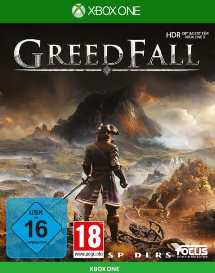 Greedfall DISC USK XBOX