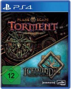 Planescape Torment & Icewind Enhanced Edition DISC USK PS4