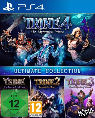 Trine 4  PS-4  Ultimate Collection