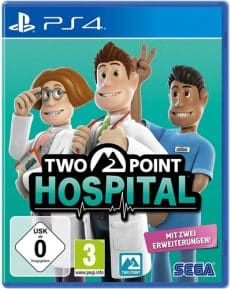 Two Point Hospital DISC USK PS4