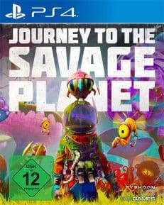 Journey to the Savage Planet DISC USK PS4