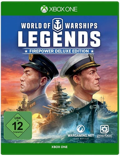 World of Warships Legends DISC USK XBOX