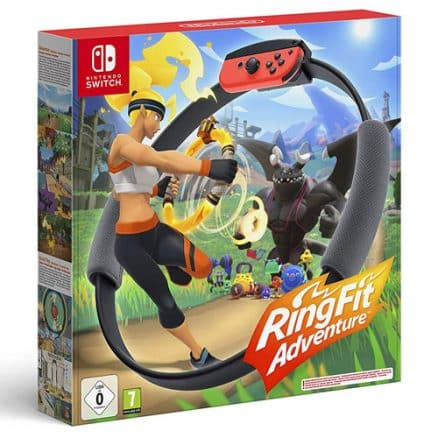 Ring Fit Adventure  SWITCH inkl. Ring-Con & Beingurt