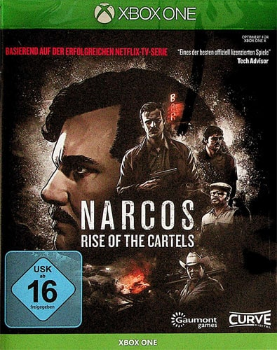Narcos: Rise of the Cartels DISC USK XBOX
