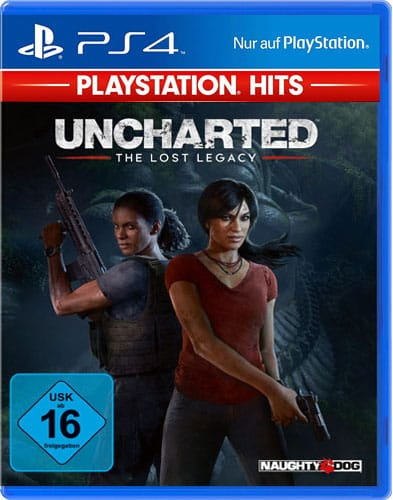 Uncharted Lost Legacy DISC USK PS4