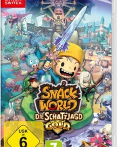 Snack World Gold CARD USK Switch