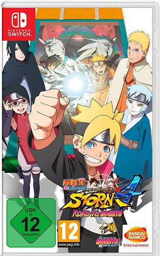 Naruto Shippuden NinjaStorm 4 CARD USK Switch