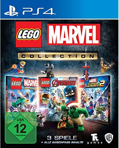 Lego  Marvel Collection  PS-4
