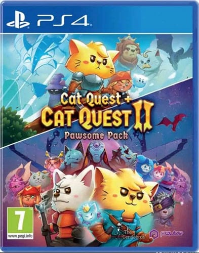 Cat Quest 2  PS-4  Pawsome Pack  AT Cat Quest I + II