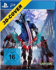 Devil May Cry 5  PS-4  3D Cover