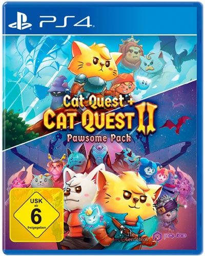 Cat Quest 2  PS-4  Pawsome Pack inkl. Cat Quest 1