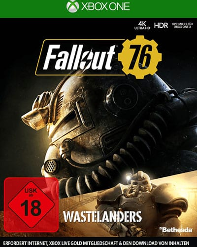 Fallout 76  XB-One  Wastelanders