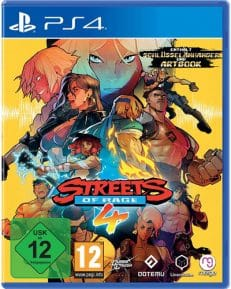 Streets of Rage 4  PS-4