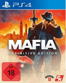 Mafia Definitive Edition  PS-4