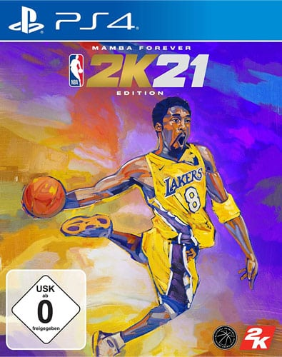 NBA  2k21  PS-4  Mamba Edition