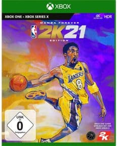 NBA  2k21  XB-One  Mamba Edition