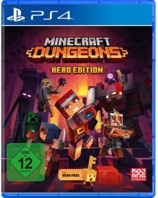 Minecraft Dungeons  PS-4 Hero Edition