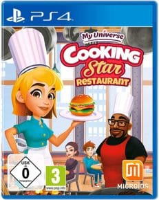 My Universe: Cooking Star Rest.  PS-4 Cooking Star Restaurant