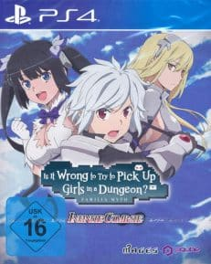 Is it Wrong to pick up Girls  PS-4 in a dungeon