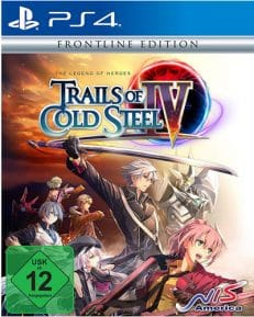 Trails of Cold Steel 4  PS-4 Legends of Heroes  Frontline Edition