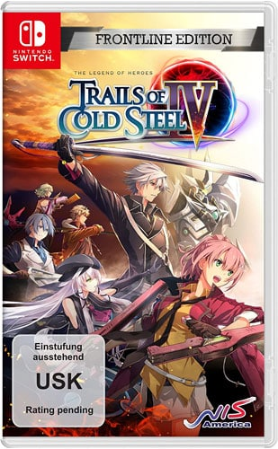 Trails of Cold Steel 4  SWITCH Legends of Heroes  Frontline Edition