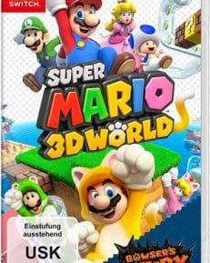 Super Mario 3D World  SWITCH + Bowsers Fury