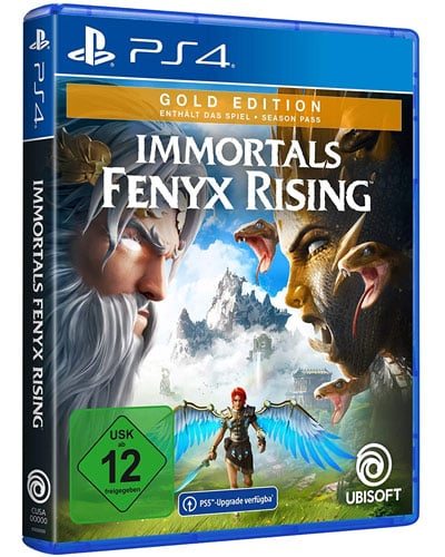 Immortal Fenyx Rising  PS-4  Gold Free upgrade to PS5