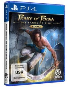 Prince of Persia  PS-4  Sands of Time Remake PS-5 Kompatibel