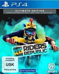 Riders Republic  PS-4  Ultimate Free upgrade to PS-5