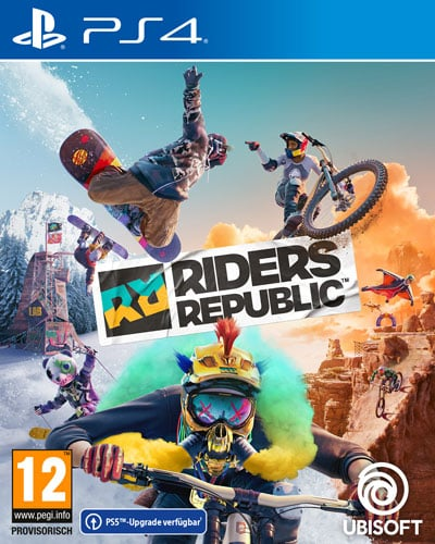 Riders Republic  PS-4  AT Free upgrade to PS-5