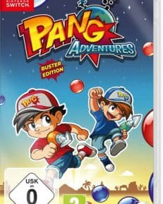 Pang Adventures  Switch  Buster Edition