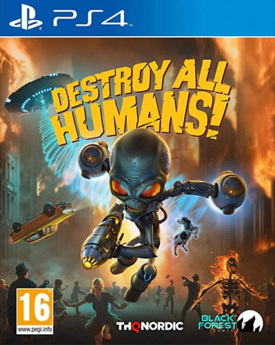 Destroy all Humans!  PS-4  PEGI